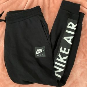 Nike Air Black Sweatpants Large Joggers
